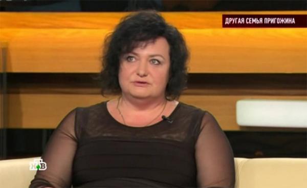 Елена Пригожина на одной из передач