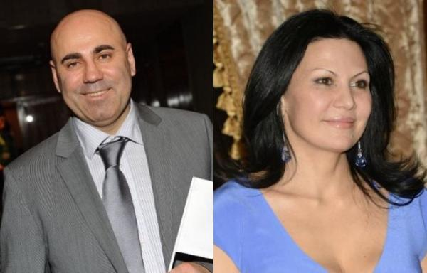 Иосиф Пригожин и его вторая жена Лейла Фаттахова