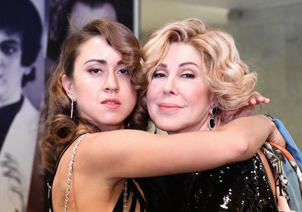 Любовь Успенская смогла примириться с дочкой
